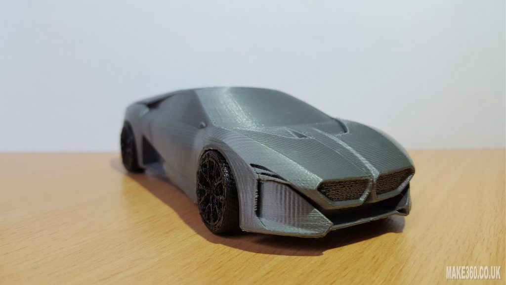 BMW Vision M NEXT concept car 3D printed on a Prusa i3