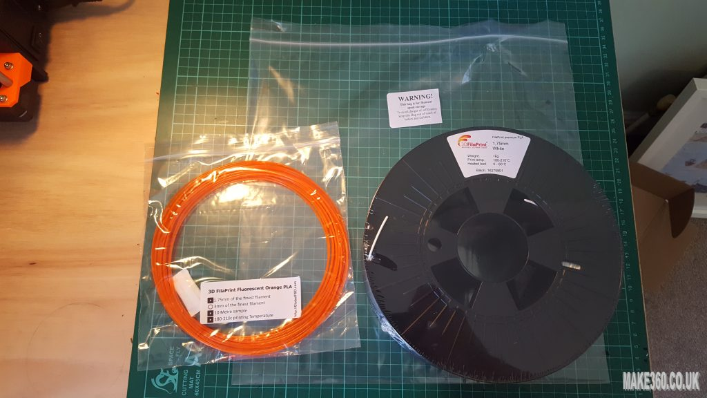 3D printing filament from 3dfilaprint