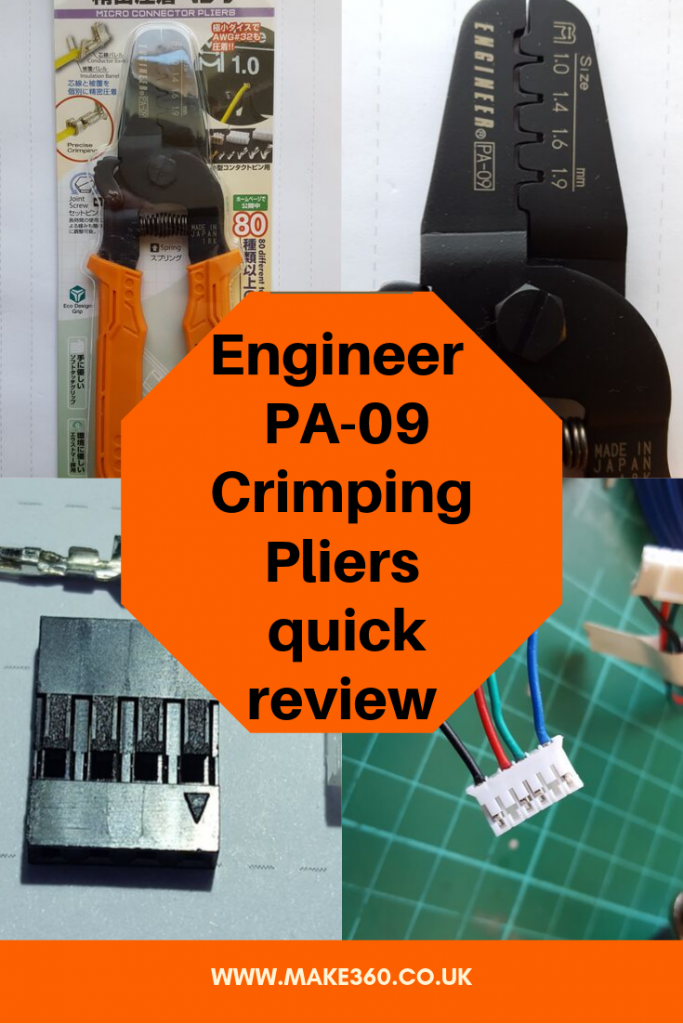 Engineer  PA-09 Crimping Pliers quick review Pinterest