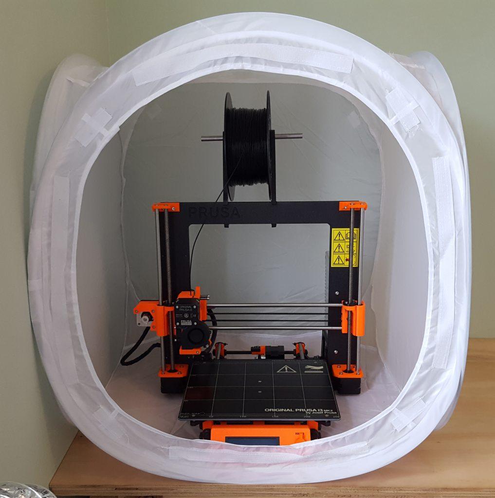 3D Printer Enclosure: Photo Tent